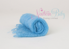Plain Colour Lacey Wrap/Stuffer - AQUA